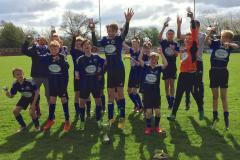 U13s win Timperley and District League Cup