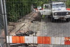 Cavity causes significant delays to completion of railway bridge works