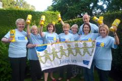 Cancer charity celebrates launch of new fundraising group