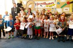 Young bookworms celebrate successful reading challenge