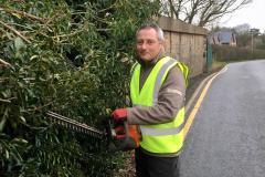 New handyman to help keep village clean
