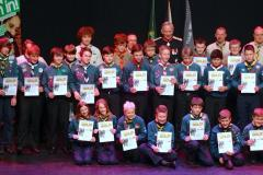 34 local scouts earn Gold Award