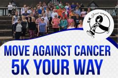 Wilmslow to take the lead with 5K Your Way, Move Against Cancer
