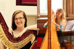 Harp duo to perform lunchtime concert