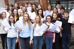 Kings' A level students celebrate impressive set of results