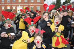 Reindeers run for local hospice