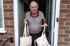 Hundreds of welfare packs handed to older people impacted by social isolation