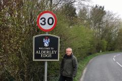 'Poshest' welcome to Alderley Edge