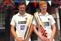 Cricket: Two rising stars picked for North of England