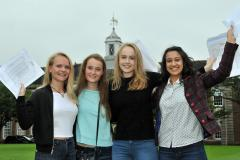 Students celebrate impressive GCSE results