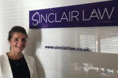Wilmslow based Sinclair Law appoints new private client solicitor