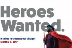 Heroes wanted to spring clean our village