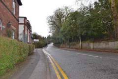 Two men arrested after fleeing vehicle on Macclesfield Road
