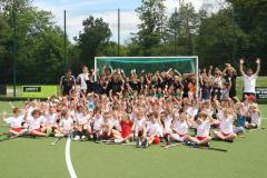 Over 100 children get a taste of hockey at The Edge