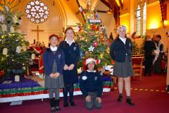 Church sparkles for this weekend's Christmas Tree Festival