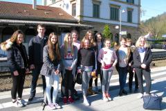 AESG choir girls visit Realschule Eberbach as part of Erasmus+ project