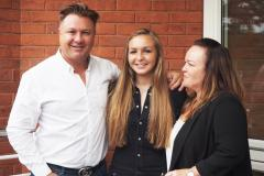 Alderley girls celebrate A Level success