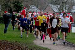 Don your festive outfits for a Christmas Eve parkrun
