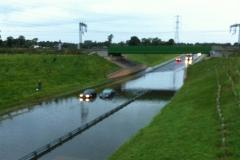 Alderley Edge bypass closed due to flooding