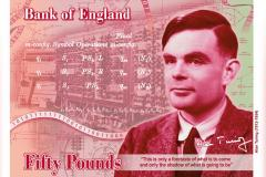 Alan Turing will be the face on the £50