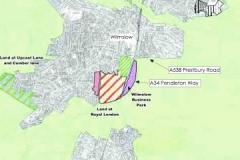 Plans for new access off bypass