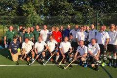 Hockey: Old masters shine