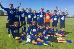 Alderley United U13 crowned league champions