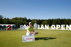 Horsey claims third European tour title
