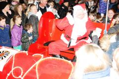 Santa's sleigh is heading to Alderley Edge