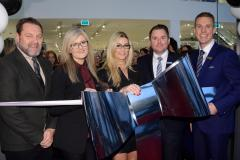 Real Housewife of Cheshire cuts the ribbon at Next superstore