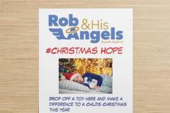 Volunteers spreading their wings to bring hope this Christmas