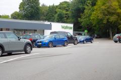 Waitrose remove spaces to relieve car park congestion