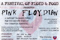 A Festival of Floyd and Food in aid of The Christie