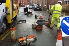South Street potholes repaired again