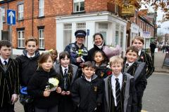 The Ryleys shows kindness with flowers