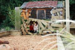 New natural play area at The Ryleys Pre-School