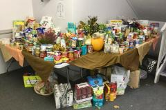 Ryleys' pupils deliver Harvest food parcels