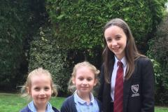 Three local girls prepare for their Royal roles