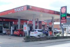 Masked robbers threaten petrol station staff