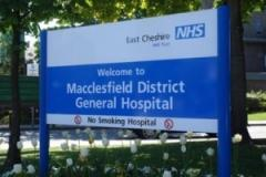 Visiting at Macclesfield Hospital suspended with immediate effect
