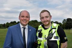 Cheshire Constabulary completes roll out of body worn video cameras