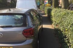 Reader's Photos: Worst-ever parking at URC?