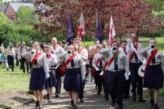 Over 100 attend St. George's Day Scouts Parade