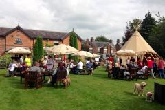 Charity family fun day and beer festival brewing at the Drum and Monkey