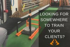 Invitation to self employed personal trainers and Pilates instructors