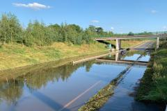 Flooded bypass reopens