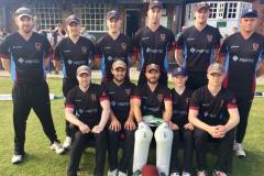Lamb's century guides Alderley to first win of season