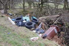 Reader's Letter: What a load of rubbish! Fly tipping at Heyes Lane
