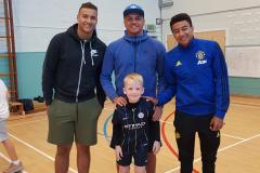 Premiership football star visits the Prep