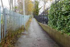 Reader's Letter: Alley between Davey Lane and the station
